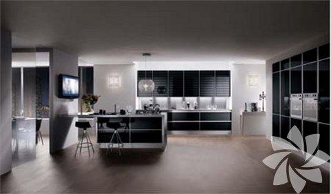 Şık görünümlü mutfaklar...