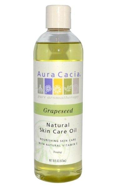 """Aura Cacia Grapeseed Skin Care Oil"" Nemlendirici"