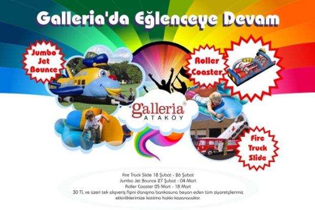 Çocuklar için eğlencenin adresi: Galleria