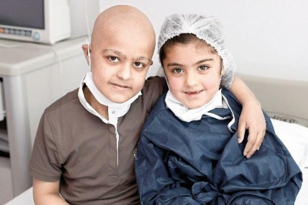 Yaşamları kemik iliği nakliyle değişen çocuklar