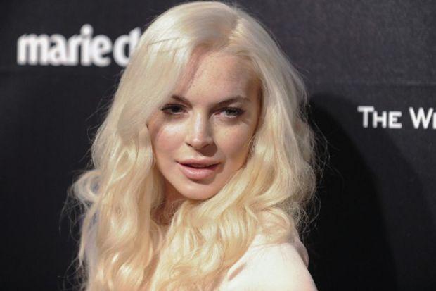 Lindsay Lohan Bloomberg HT'de!