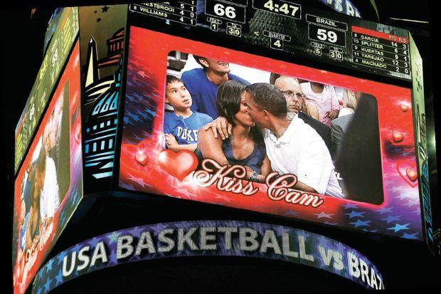 Maçta 'first öpücük'