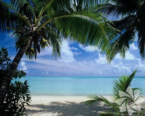 En romantik plaj: Matira plajı- Bora Bora