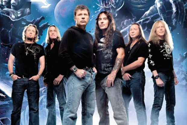 Iron Maiden bu akşam İnönü'de!
