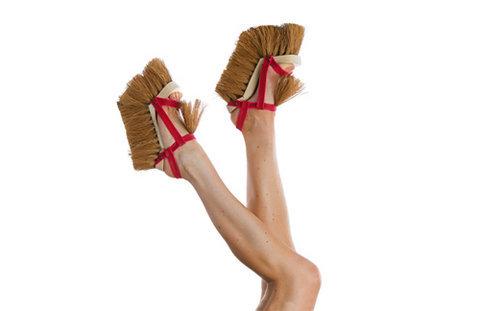 İlginç ayakkabılar