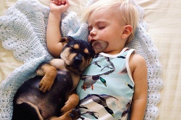 Uykunun en sevimli halleri