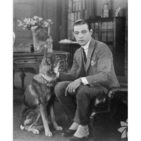 """1920'ler Rudolph Valentino   İtalyan şehvetinin temsilcisi Valentino """"ateşli Latin erkeği"""" olarak ün yaptı. Yakışıklı aktörün bir seks sembolüne dönüşmesindeki en önemli etkense modadaki öncülüğüydü."""