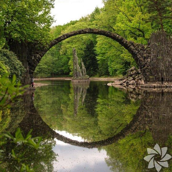 Şeytan Köprüsü, Kromlauer Parkı, Almanya