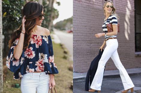 Trend: Beyaz pantolon