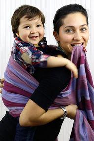 Anne kucağının en konforlu hali: Babywearing